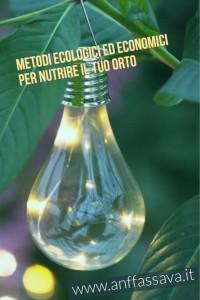 metodi per curare il tuo orto o giardino in modo ecologico