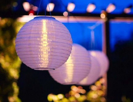 lampada ad energia solare da giardino