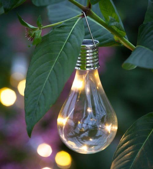lampada fotovoltaica