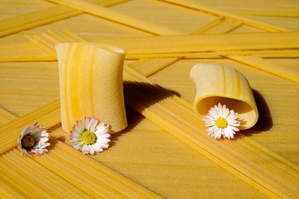 pasta con i fiori - ricette estive