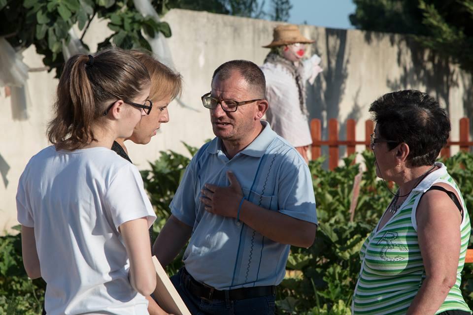 Al lavoro nell'Orto Solidale di Anffas Sava
