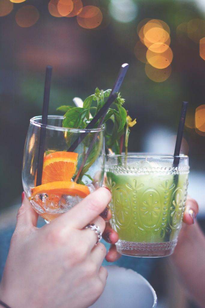acqua limone e menta - bevanda freschissima per l'estate